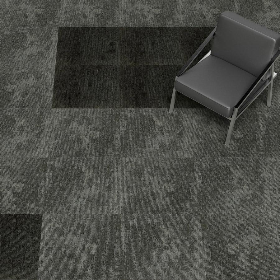 Dusk Grey Tile: Nylon Carpet Tiles Dusk